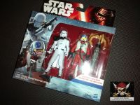 """Star Wars The Force Awakens First Order Snowtrooper Officer & Snap Wexley Collectable Figures 3.75"""" Tall"""