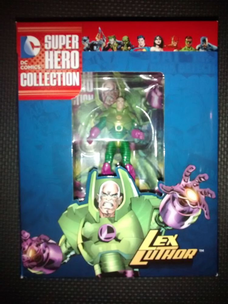 DC Comics Super Hero Collection - Collectable Eaglemoss Figurine - Lex Luth