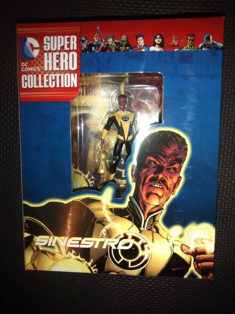 DC Comics Super Hero Collection - Collectable Eaglemoss Figurine - Sinestro