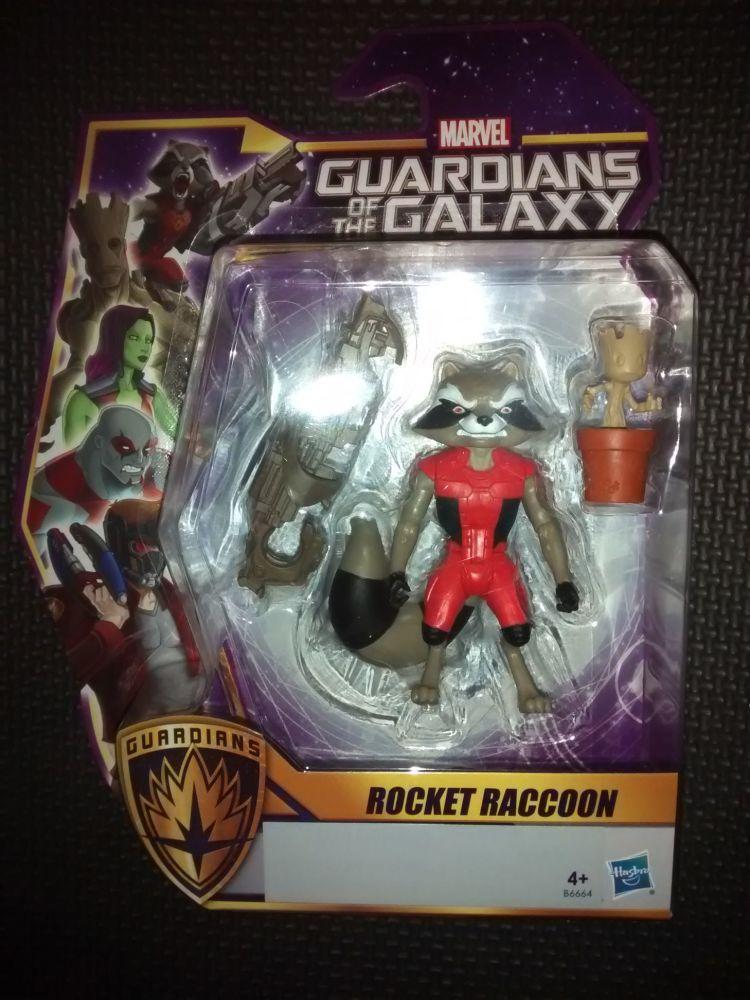 Marvel Hasbro - Guardians Of The Galaxy  - Rocket Raccoon - 3.5