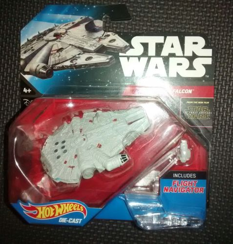 Hot Wheels Die-Cast Millennium Falcon - The Force Awakens
