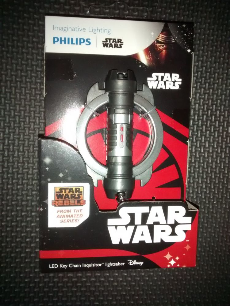 Star Wars - The Animated Series - Inquisitor Lightsaber - LED Key Chain