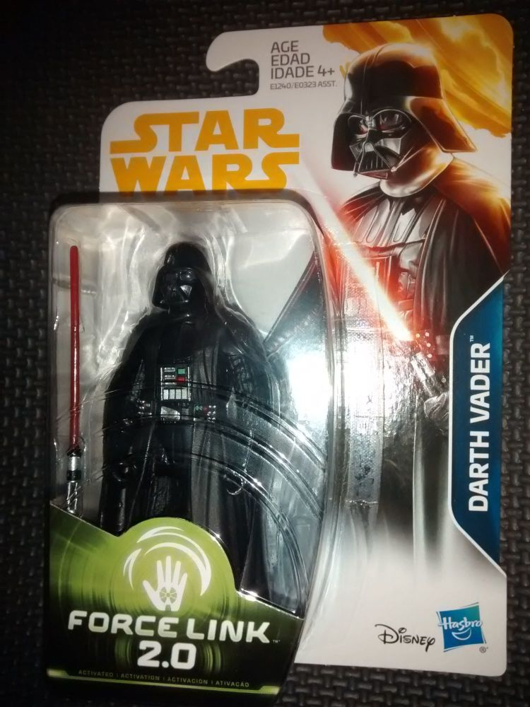 Star Wars Darth Vader Collectable Figure E1240/E0323 Force Link - 2.0 Compa