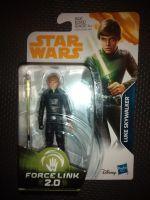 "Star Wars Luke Skywalker Collectable Figure E1250/E0323 Force Link - 2.0 Compatible 3.75"" Tall"