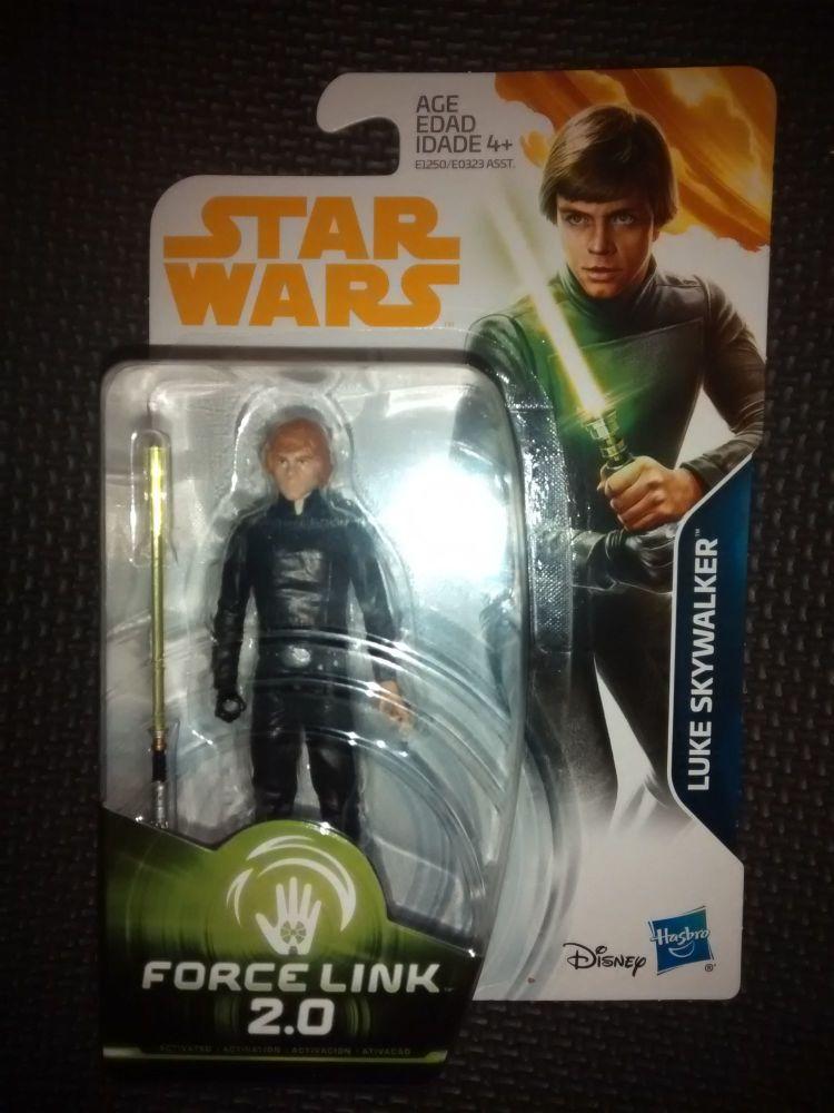 Star Wars Luke Skywalker Collectable Figure E1250/E0323 Force Link - 2.0 Co