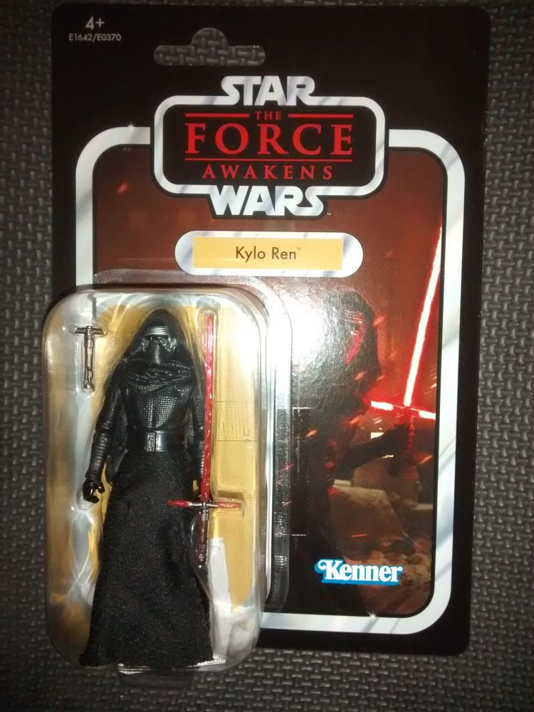 Star Wars - Kenner Hasbro - The Vintage Collection - Kylo Ren - Premium Col