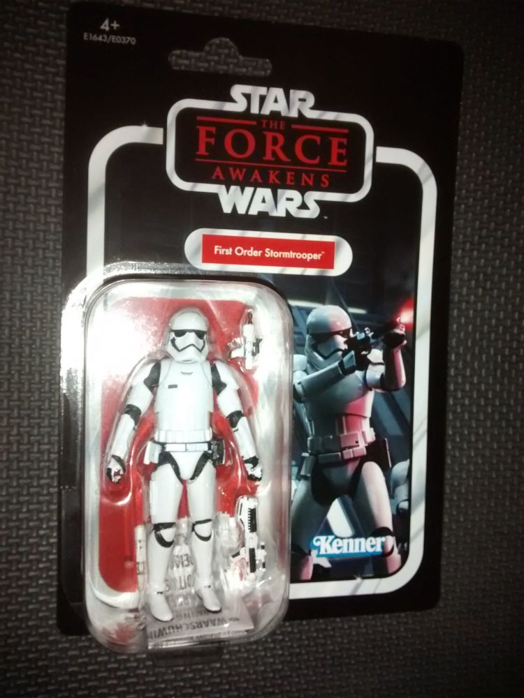 Star Wars - Kenner Hasbro - The Vintage Collection - First Order Stormtroop