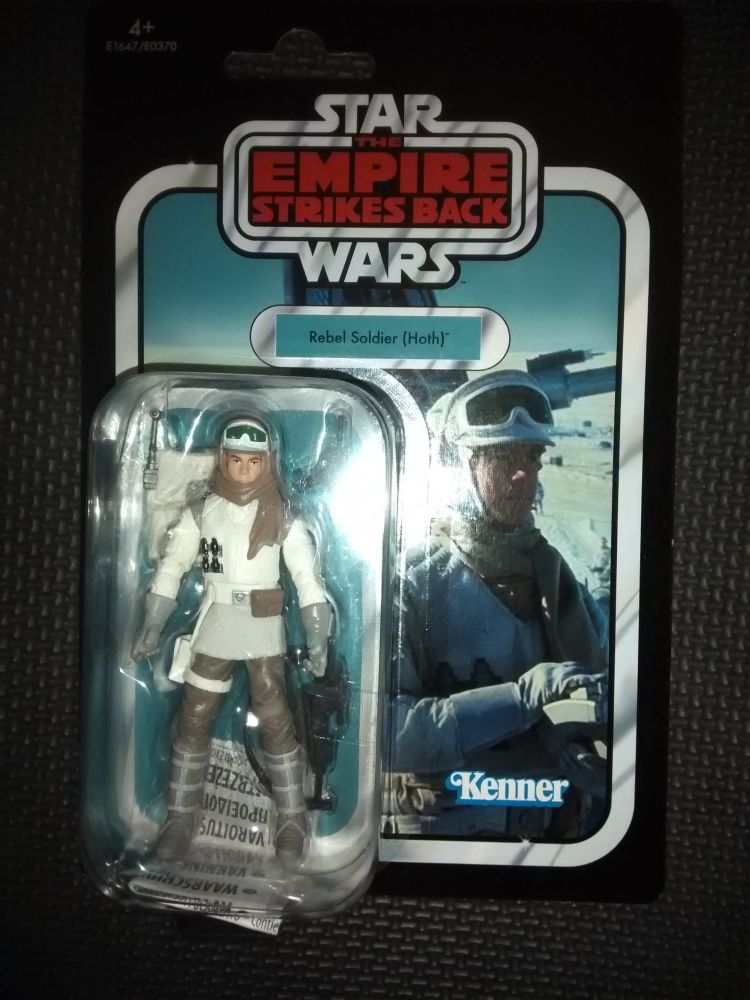 Star Wars - Kenner Hasbro - The Vintage Collection - Rebel Soldier (Hoth) -