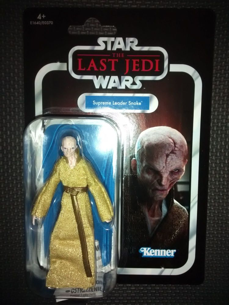 Star Wars - Kenner Hasbro - The Vintage Collection - Supreme Leader Snoke -