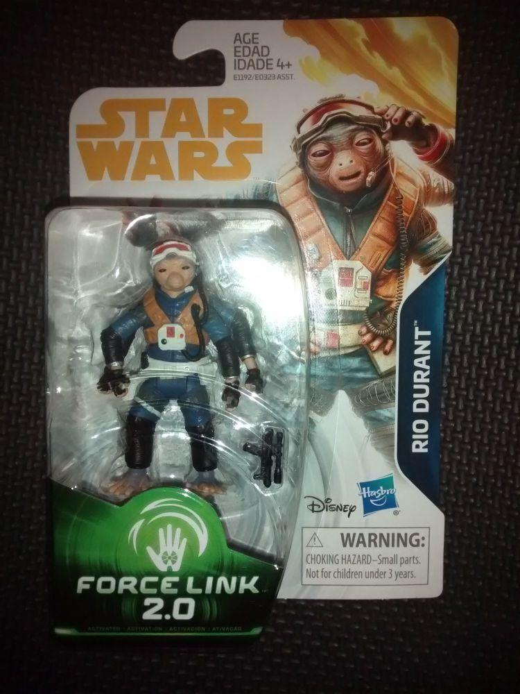 Star Wars Rio Durant Collectable Figure E1192/E0323 Force Link - 2.0 Compat