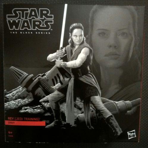 Star Wars - The Black Series - Rey (Jedi Training) - Premium Collectable Fi