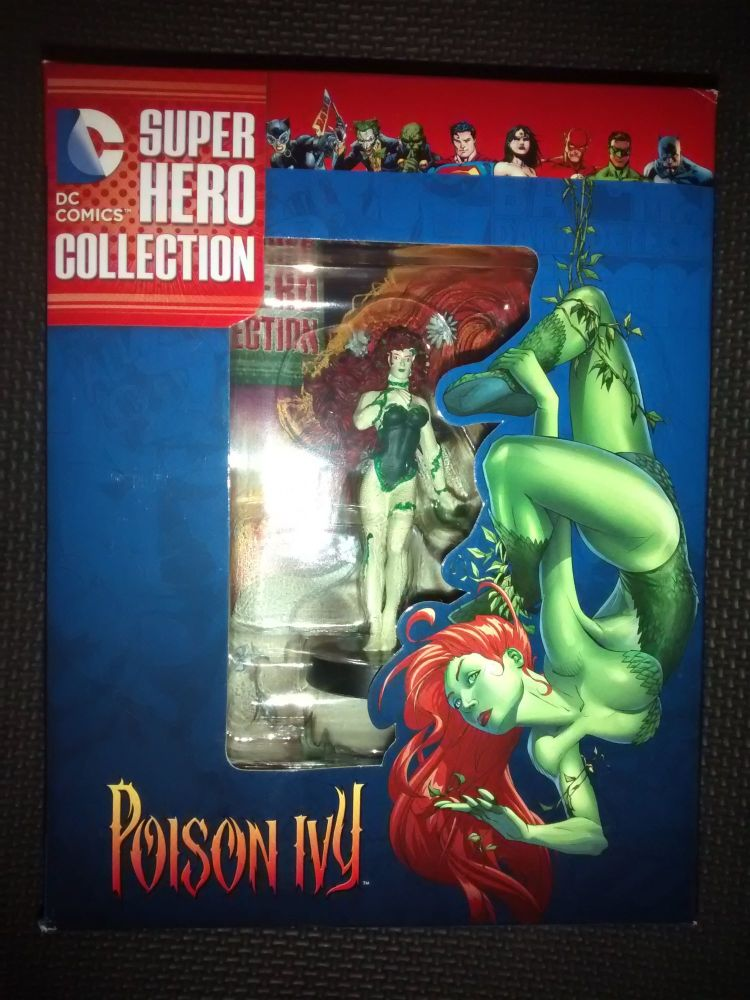 DC Comics Super Hero Collection - Collectable Eaglemoss Figurine - Poison I