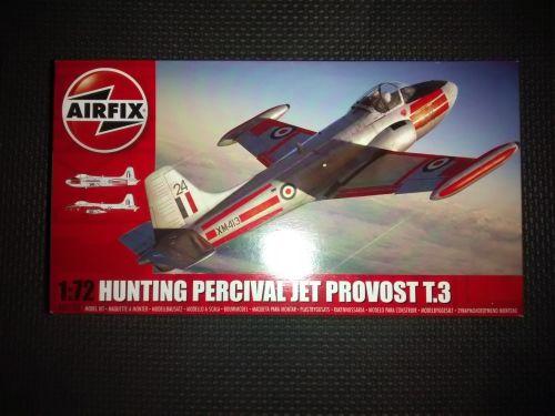 Airfix A02103  1:72 Hunting Percival Jet Provost T.3 Plastic Model Kit