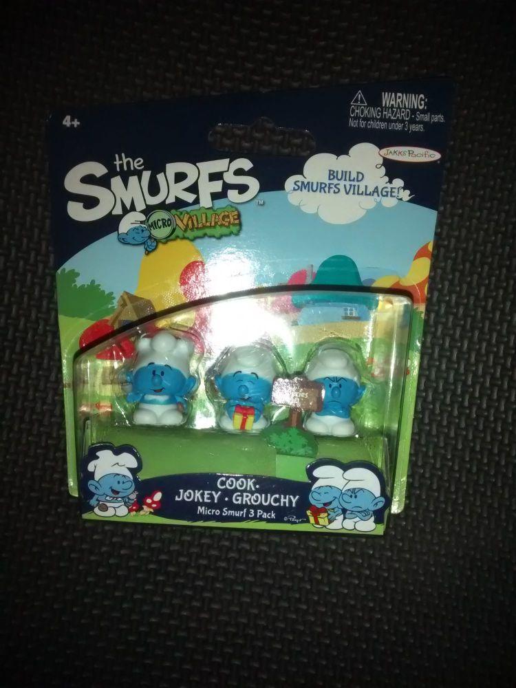 The Smurfs - Micro Smurf Pack - 1