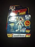 "Danger Mouse Official 3.5"" Collectable Figure With Zip-Line Feature"