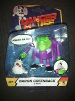 "Danger Mouse Official Baron Greenback & Nero 3.5"" Collectable Figure Set"