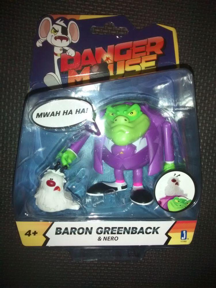 Danger Mouse Official Baron Greenback & Nero 3.5