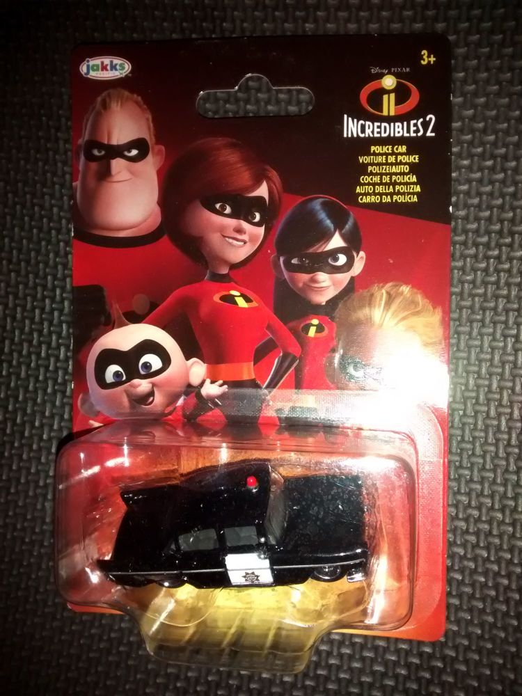Disney Pixar - Incredibles 2 - Diecast Vehicle - Boosted Incredible