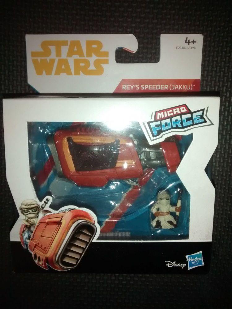Star Wars - Micro Force Series - Reys Speeder (Jakku)