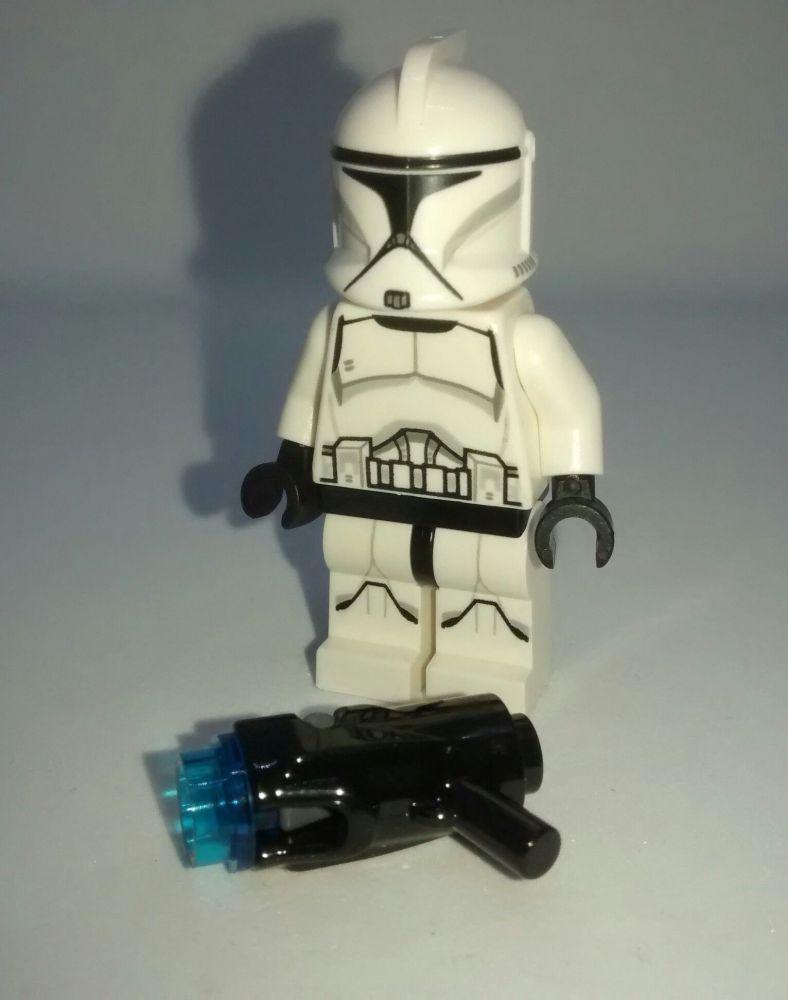 Lego Minifigure - Clone Trooper - Split from set 75206