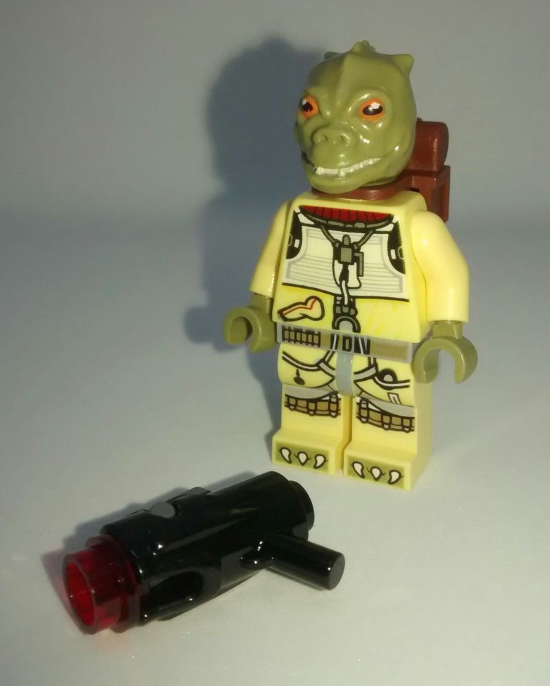 Lego Minifigure - Bossk & Original Blaster - Split from set 75167