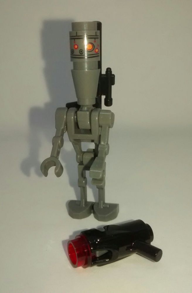 Lego Minifigure - IG-88 - Split from set 75167