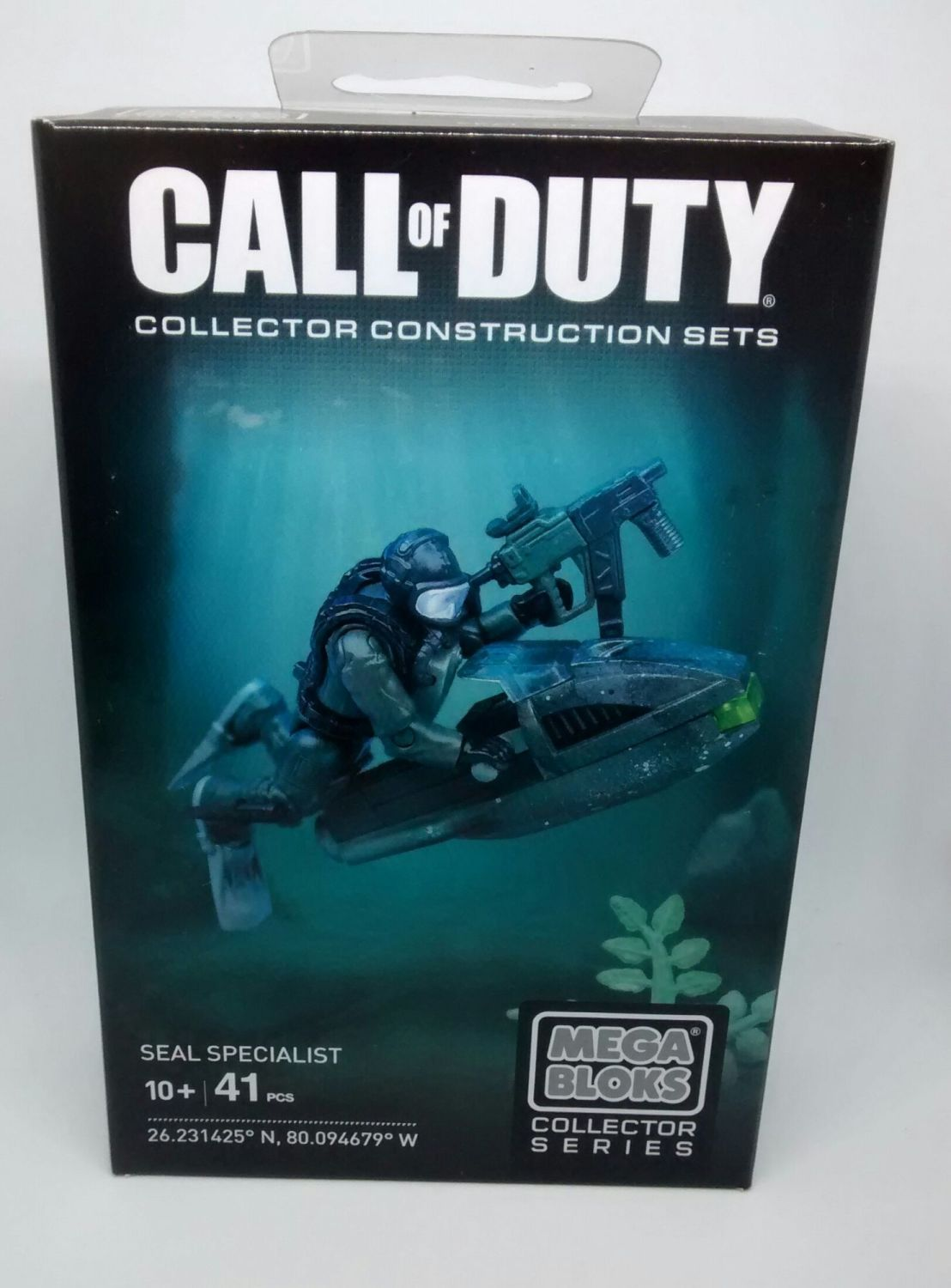 Mega Bloks Collector Series - Call Of Duty - Seal Specialist