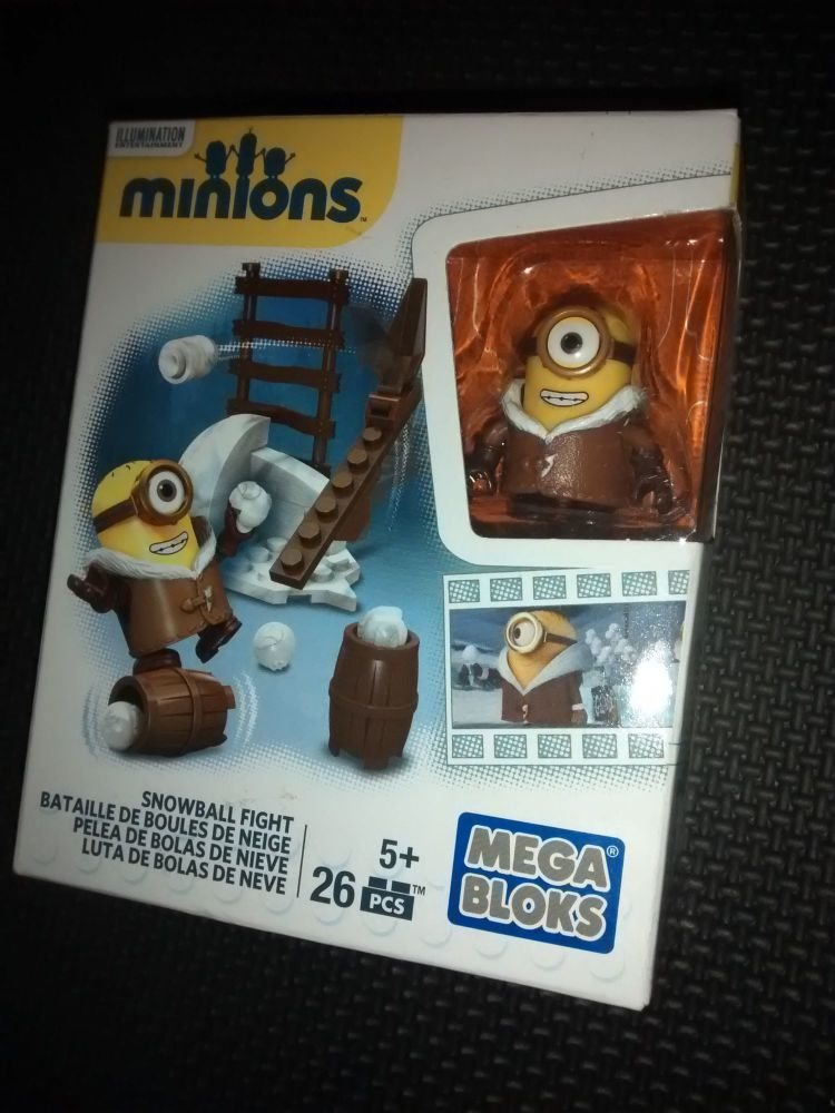 Mega Bloks - Minions Series - Snowball Fight