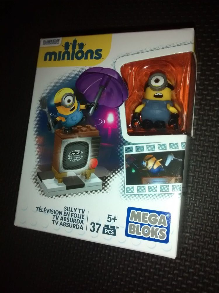 Mega Bloks - Minions Series - Silly TV