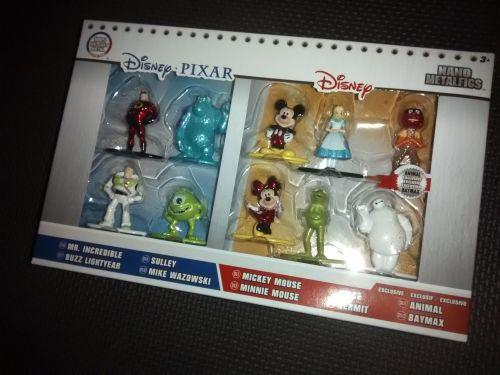 Disney Nano Metalfigs By Jada Toys - Ten Disney / Disney Pixar Character Mi