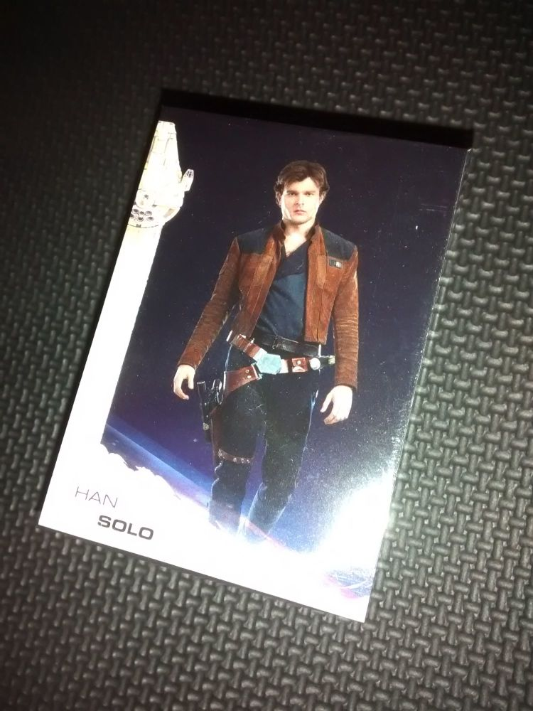 Star Wars - Solo - Complete 100 Card Base Set - Topps - Brand New & Sealed