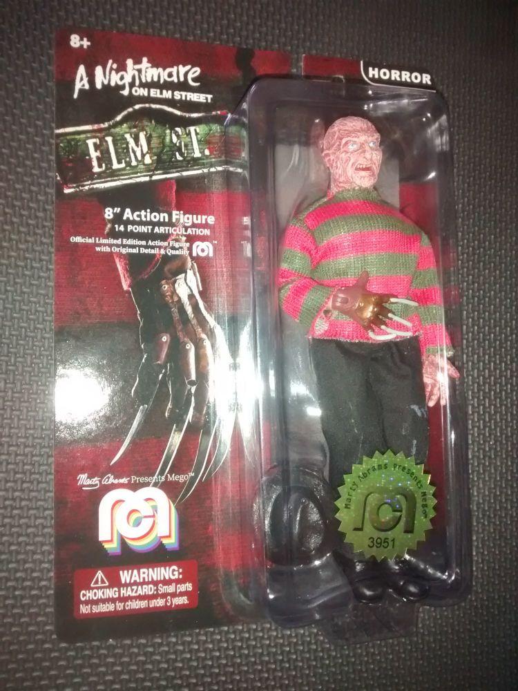 Mego - A Nightmare On Elm Street - Freddy Krueger - Collectable Figure