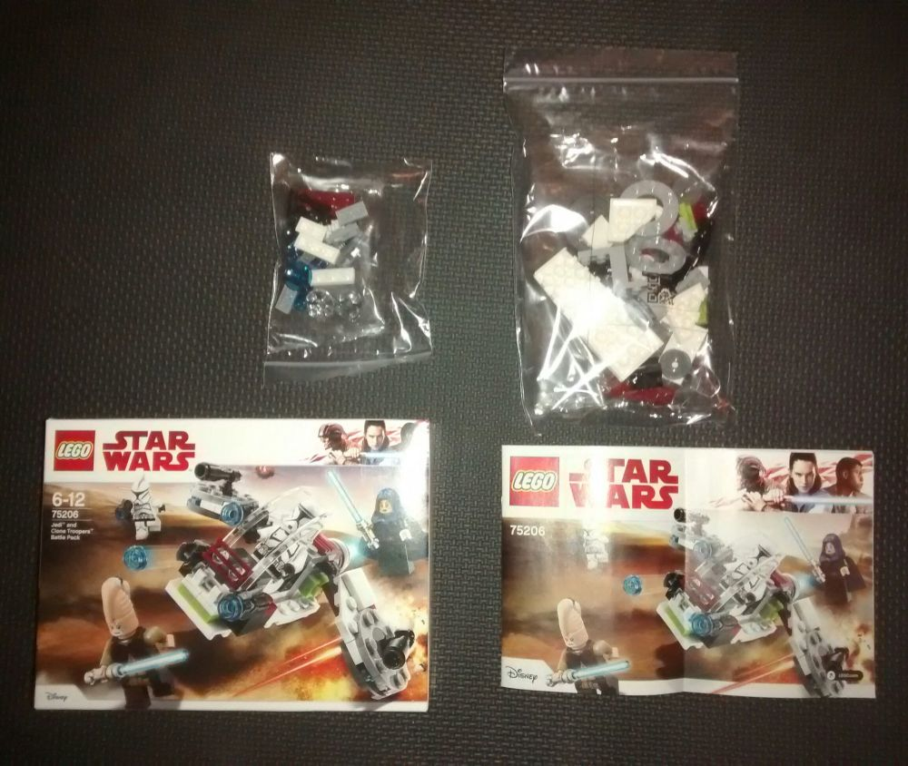 Lego - 75206 - Jedi and Clone Troopers Battle Pack - NO MINIFIGURES - Vehic