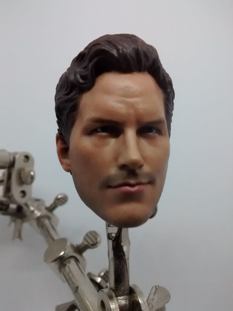 1:6 Scale Custom Head Sculpt - Peter Quill - Star Lord - Guardians Of The G
