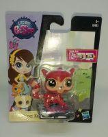 "Littlest Pet Shop - Collectable 2.5"" Figure - Stripes Reddy - B0985"