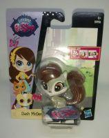 """Littlest Pet Shop - Collectable 2.5"""" Figure - Dash McDernutt - B0986"""