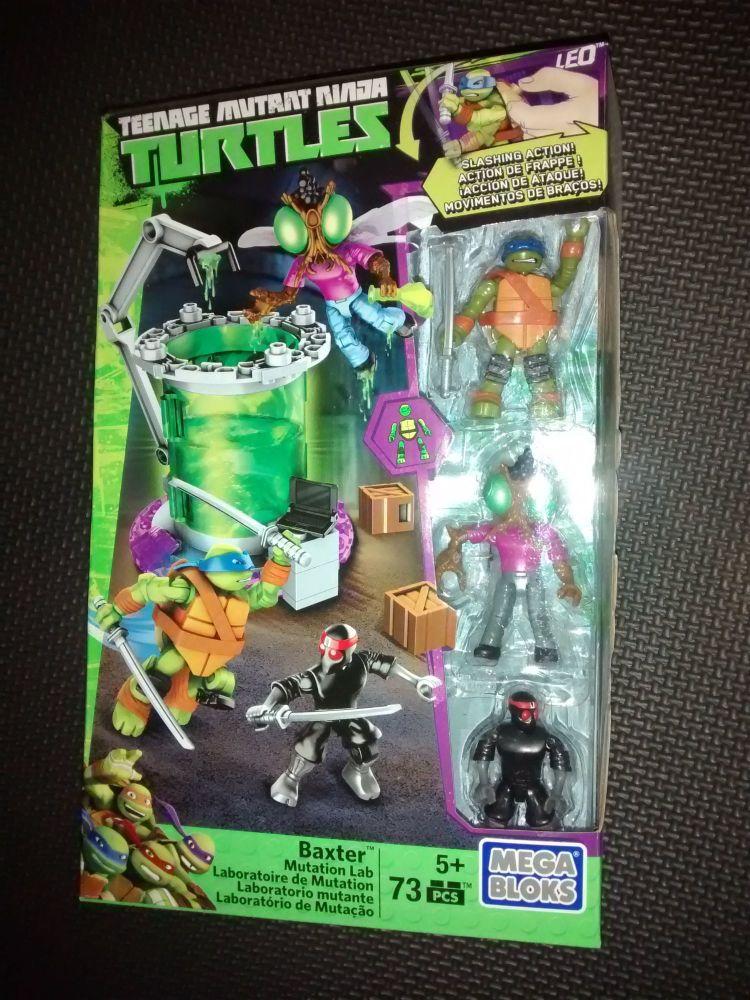 Mega Bloks - Teenage Mutant Ninja Turtles - Baxter Mutation Lab Pack - 73 P