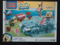 Mega Bloks - Spongebob Squarepants - Invisible Boatmobile Rescue Set - Retired Set