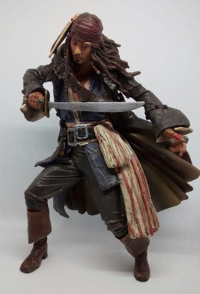 Pirates Of The Caribbean - Captain Jack Sparrow - Neca - Loose Action Figur