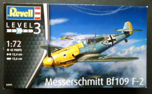 Revell  1/72 Messerschmitt Bf109 F-2 Plastic Model Kit
