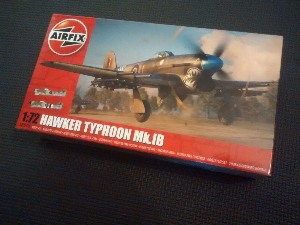 Airfix A02041A  1:72 Hawker Typhoon Mk.IB Plastic Model Kit