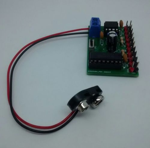 Fully Assembled Circuit Board - 4017 Led Light Chaser Board