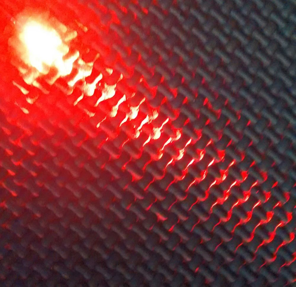 Qty 10 - 1.8mm Ultra Bright Led - Clear Type Lens - Red