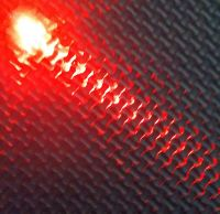 Qty 10 - 3mm Diffused Led - Diffused Type Lens - Orange