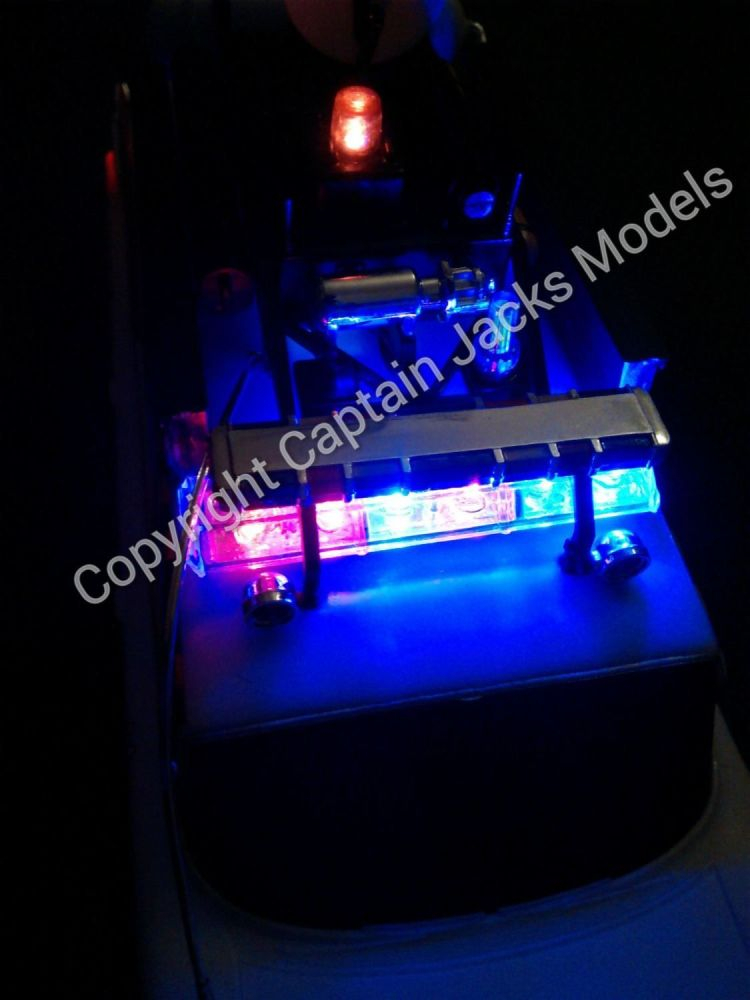 Ghostbusters Ecto-1A Led Lighting Kit For AMT 1A Models Kit 1:25 Scale - US
