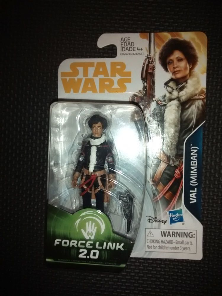 Star Wars Val (Mimban) Collectable Figure E1686/E0323 Force Link - 2.0 Comp
