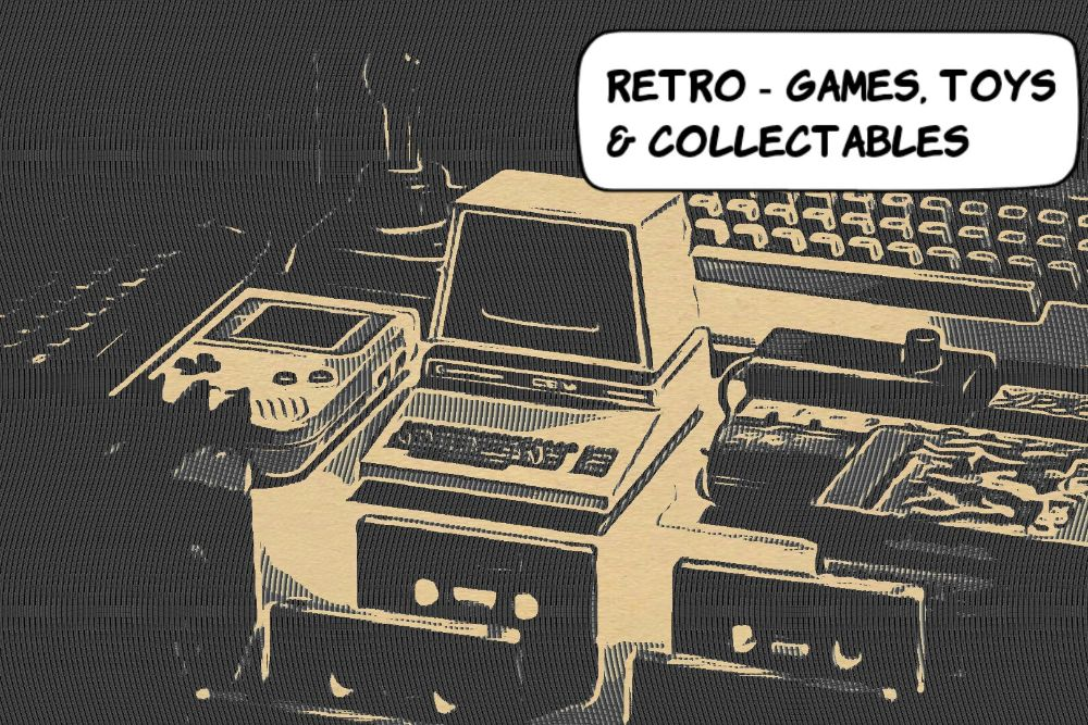 Retro Toys, Games & Collectables