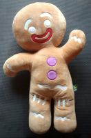 "Large Plush 18"" Gingerbread Man - Shrek - Plush Toy"