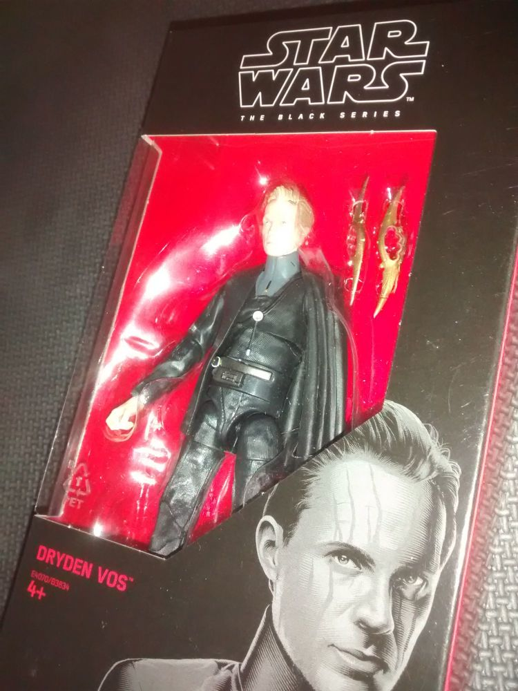 Star Wars - The Black Series - Dryden Vos - No. 79 - Collectable Figure 6