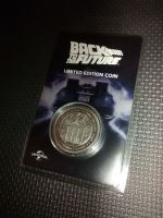 Back To The Future - Limited Edition Coin - Fanattik - Universal Studios - Silver Edition